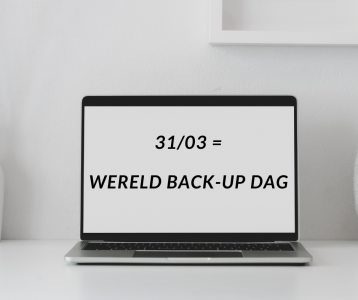 31/03 = Wereld Back-up Dag